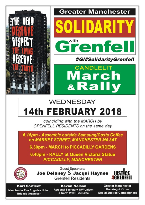 Grenfell Solidarity March