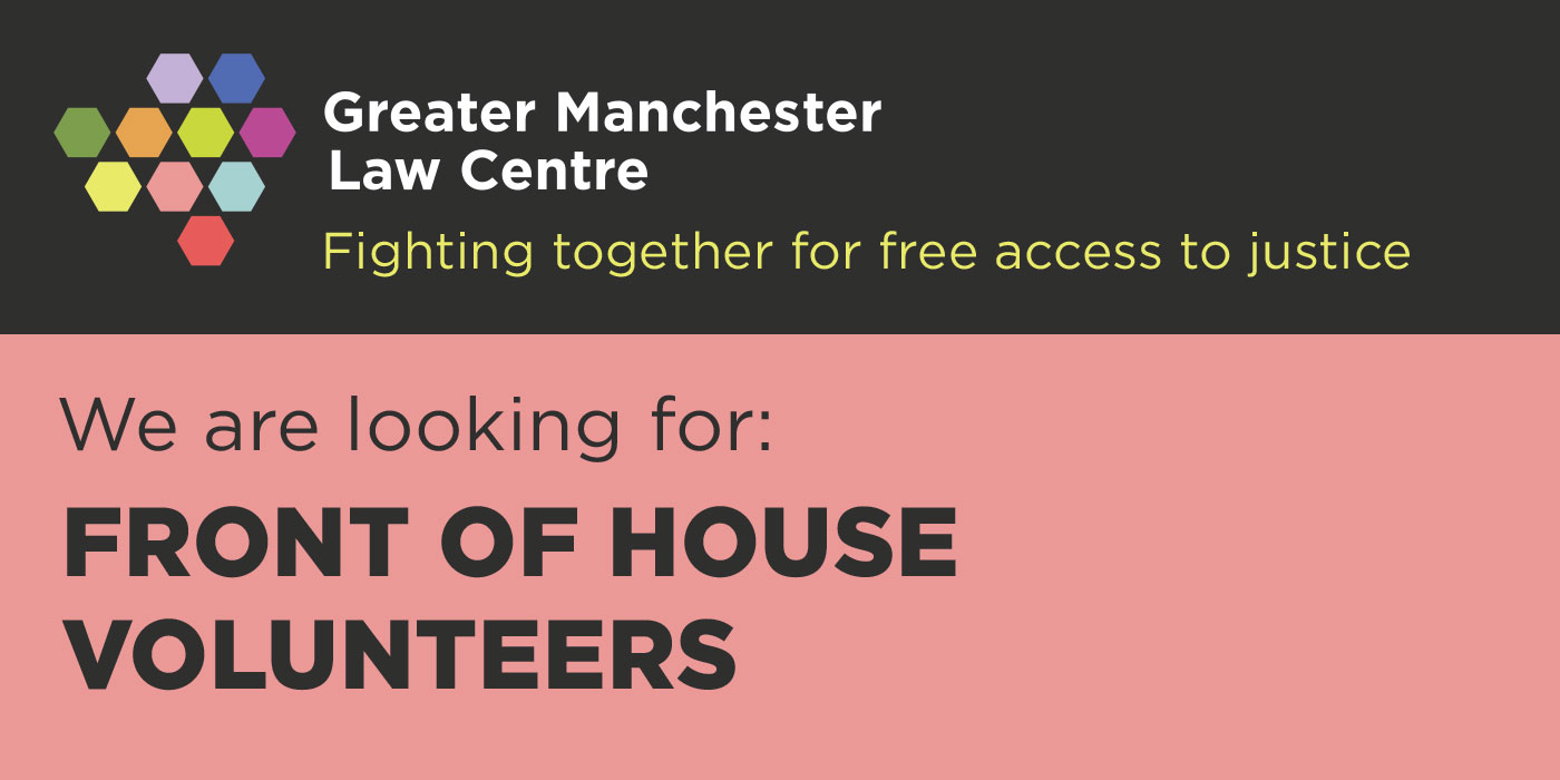 Front of House Volunteer Recruitment