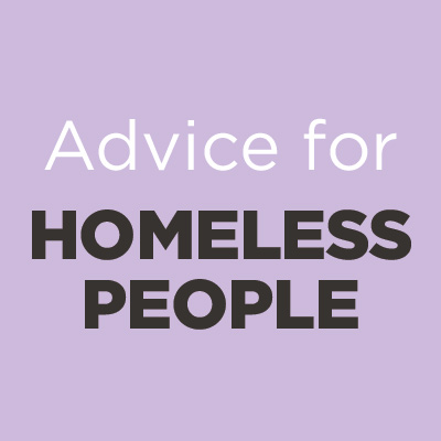 Advice for Homeless People icon