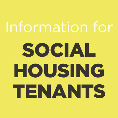 Advice for social housing tenants icon