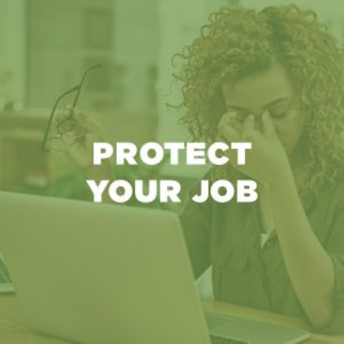 Protect Your Job button (click to activate)